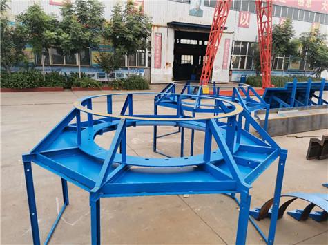 圆柱钢模板操作平台